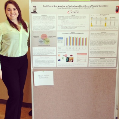 Presenting at SUNY Cortland Transformations a student research conference